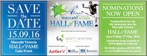 Hall Of Fame Induction 2016 Hold the Date