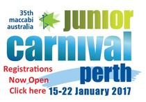 Registrations Now Open for Perth Junior Carnival 2017