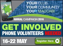 Volunteers Needed for Maccabi Victoria Annual Campaign Phoning